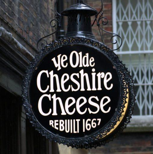 Cheshire Cheese pub sign