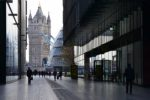 View of Tower Bridge and London Assembly.